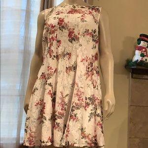 Lane Bryant sleeveless lace dress 22/24